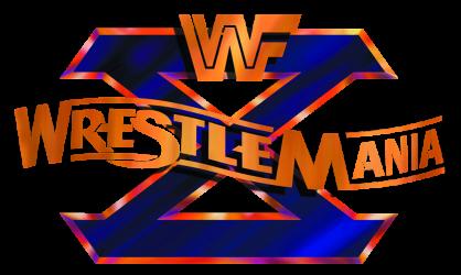 WrestleMania X Logo