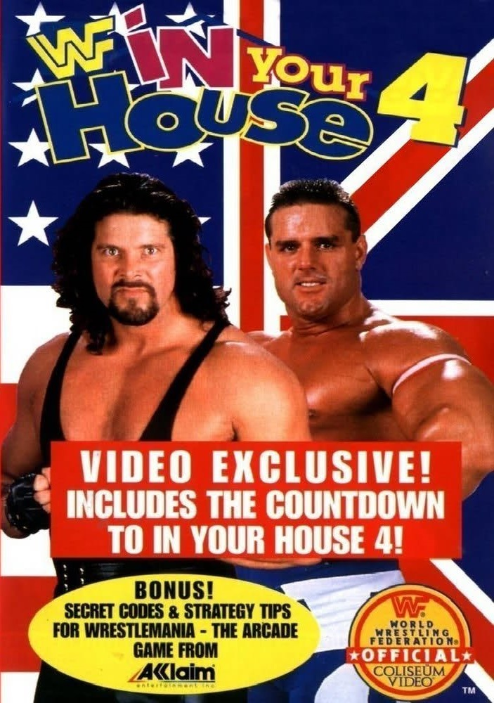 WWF - In Your House 4 Cover